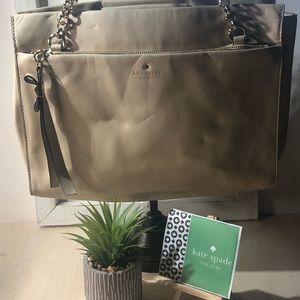 Kate Spade ~ Tan Leather Handbag